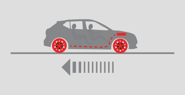 KICKS Intelligent Engine Brake illustration