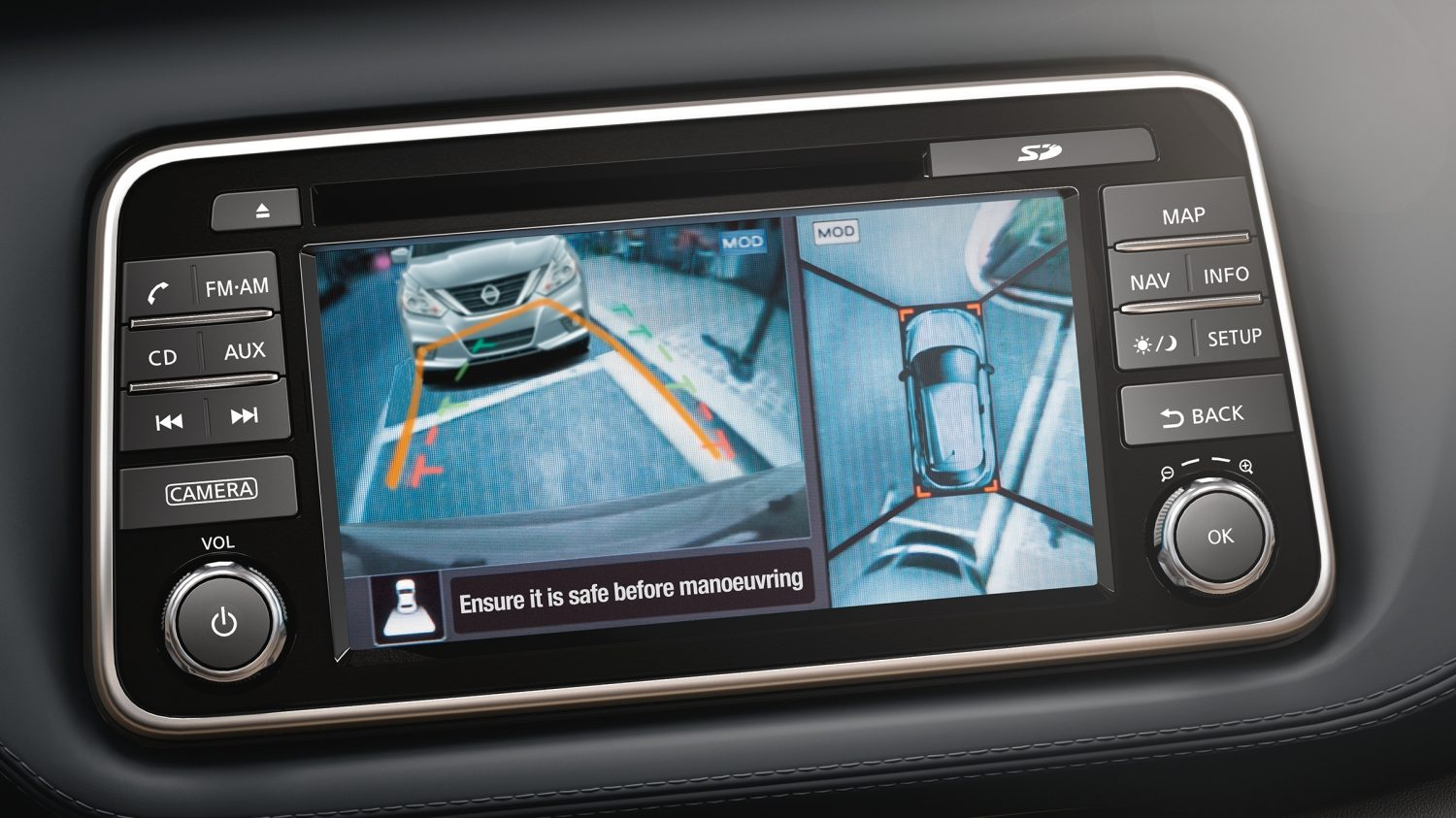 Nissan Kicks Around View Monitor System