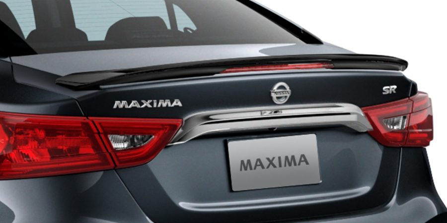 MAXIMA Midnight Edition - BLACK SPORT SPOILER