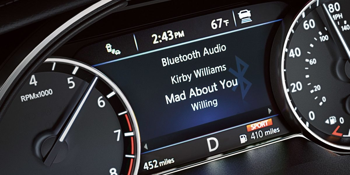 Nissan Maxima Bluetooth Streaming Audio