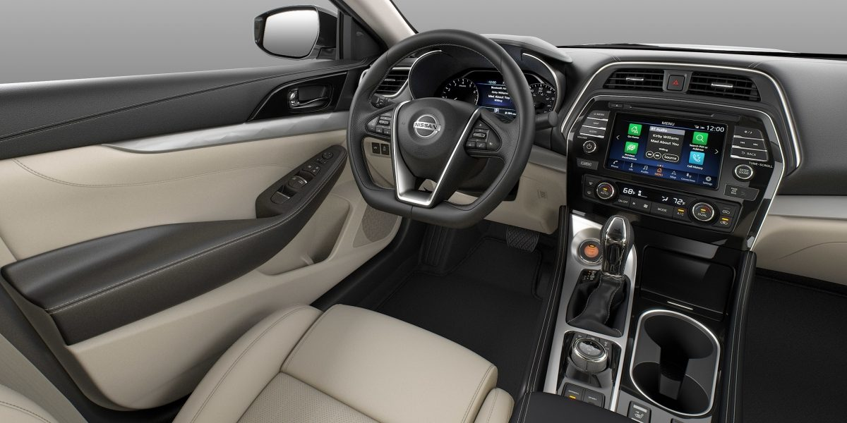 Nissan Maxima interior Cashmere Leather