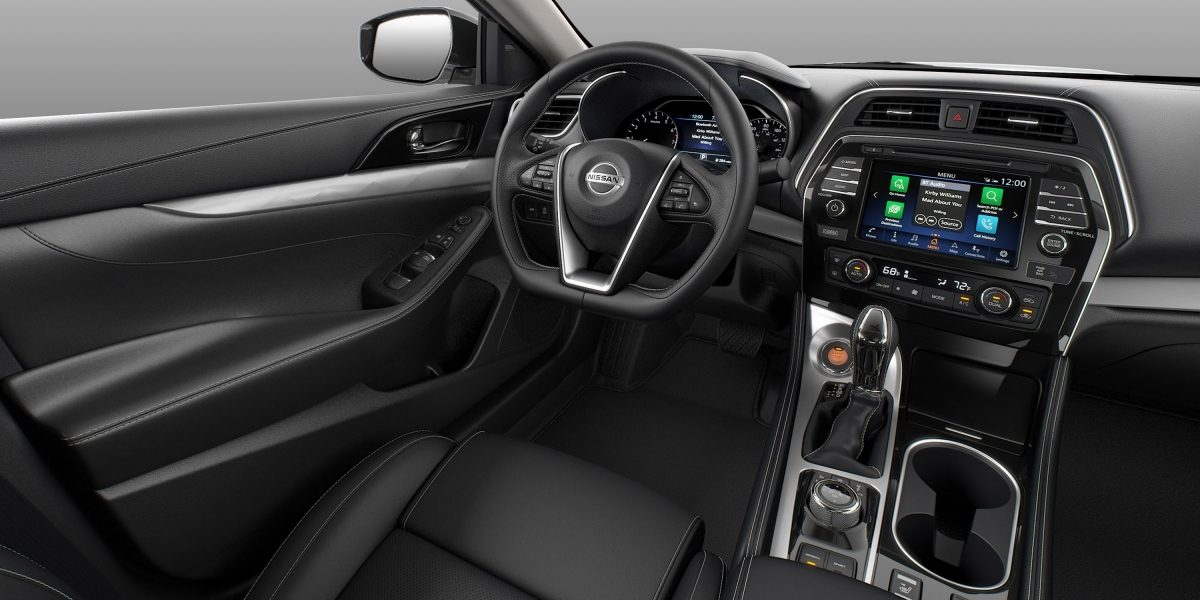 Nissan Maxima Interior Charcoal Leather