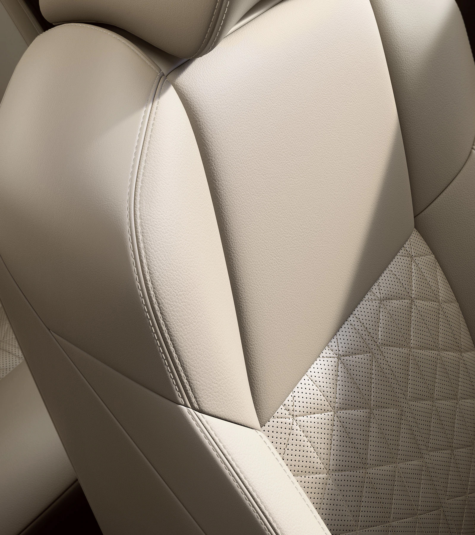2019 Nissan Maxima with quilted leather-appointed seats