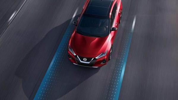 Nissan Maxima Intelligent Lane Intervention