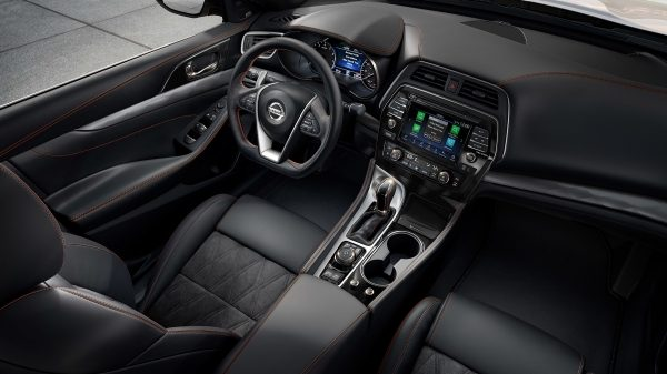 Nissan Maxima premium ascot leather with Alcantara inserts
