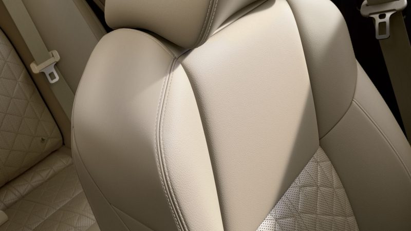 Sport-styled Seats with Available Diamond-quilted Inserts