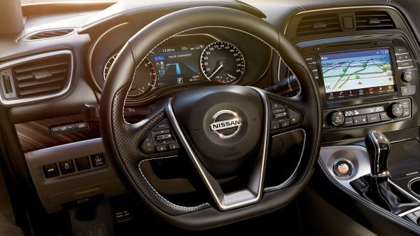 D-shaped Steering Wheel with Paddle Shifters