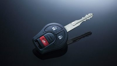 Black Urvan Bus Key