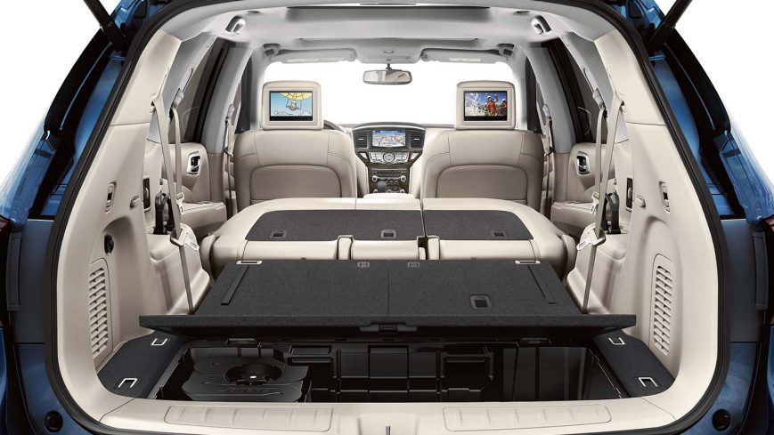 Nissan Pathfinder Hybrid Family Suv Nissan Jordan
