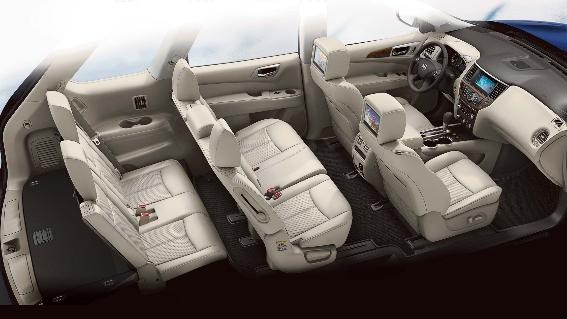 Nissan Pathfinder three rows of seating