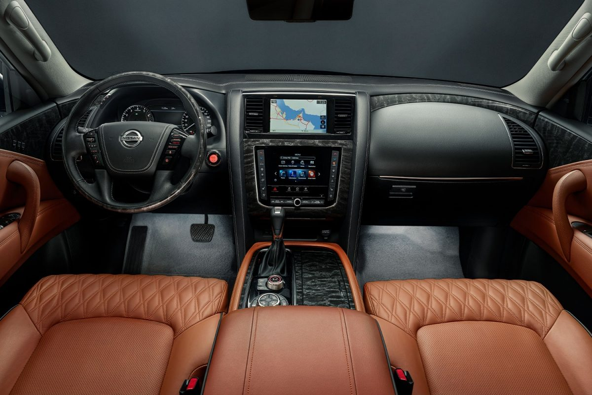 Nissan Patrol 2020 INTERIOR LIGHTING