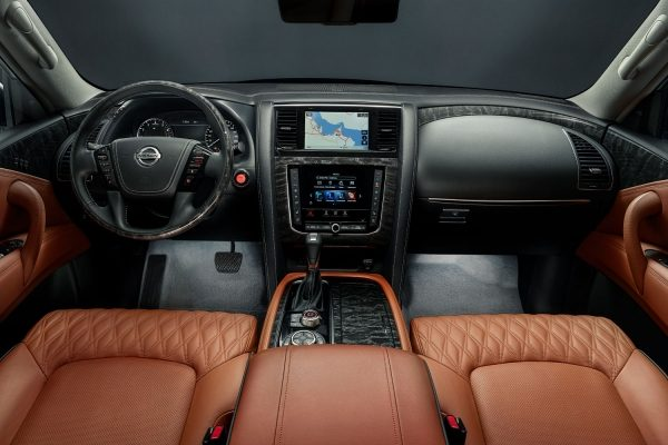 2020 Nissan PATROL Interior Lighting Package