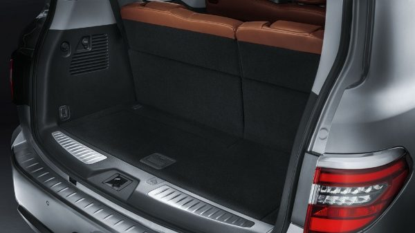 Rear Luggage Space in 2020 NISSAN PATROL