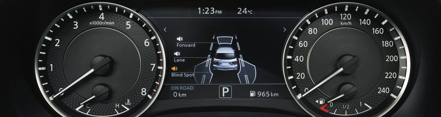 DRIVER ASSIST DISPLAY in 2020 NISSAN PATROL