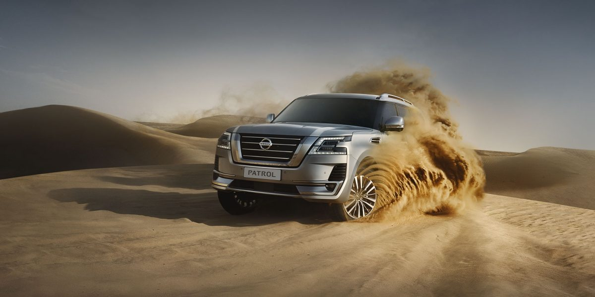 2020 NISSAN PATROL dune bashing off-road