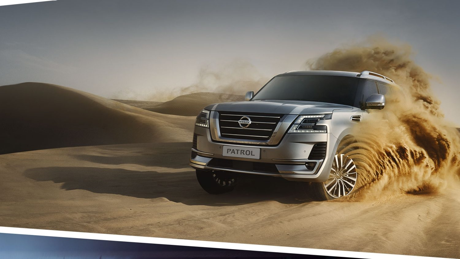2020 Patrol Nissan SUV driving off-road