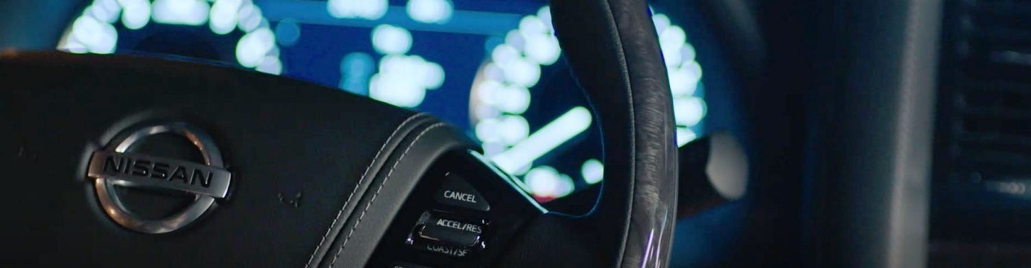 2020 NISSAN PATROL steering wheel