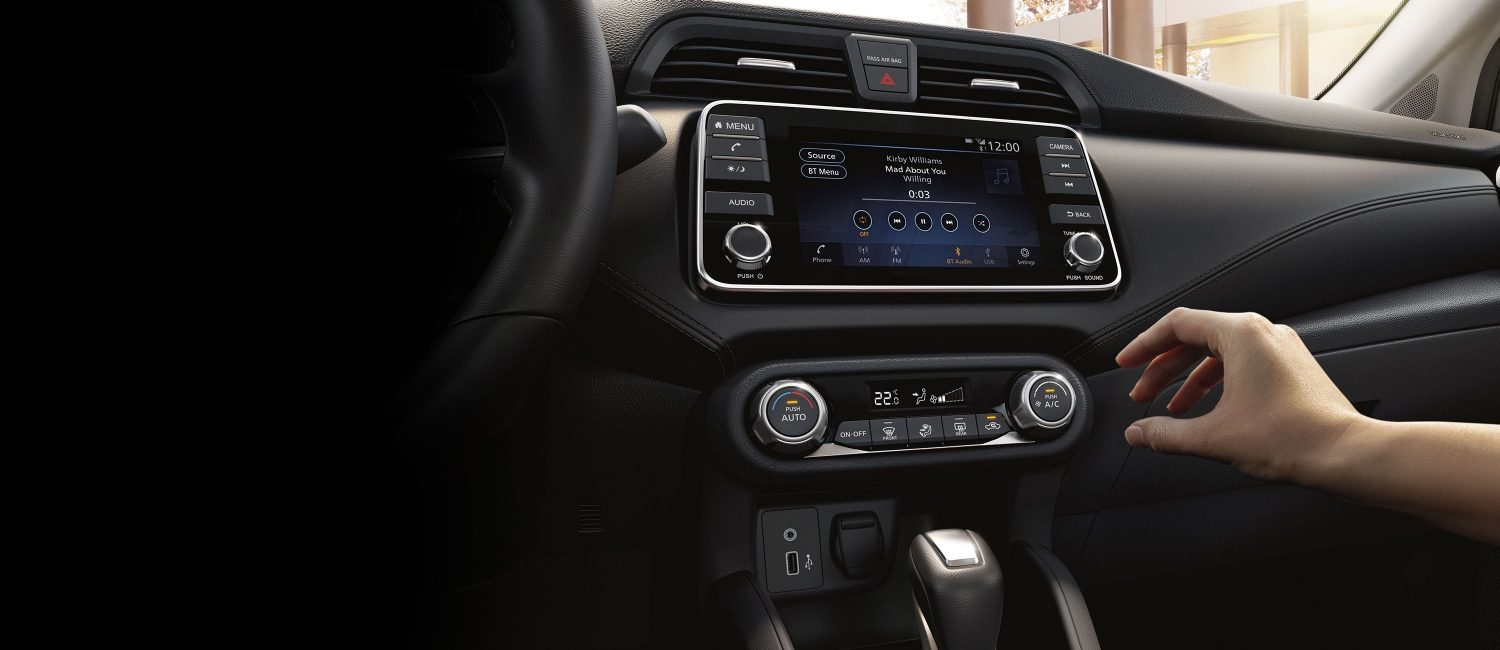 All-New 2020 Nissan Sunny Interior Dashboard