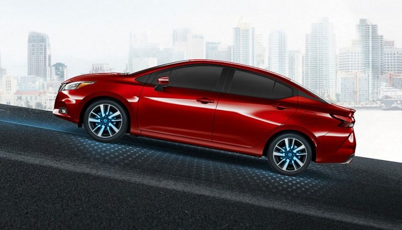 Nissan SUNNY hill start assist and smart driving technologies