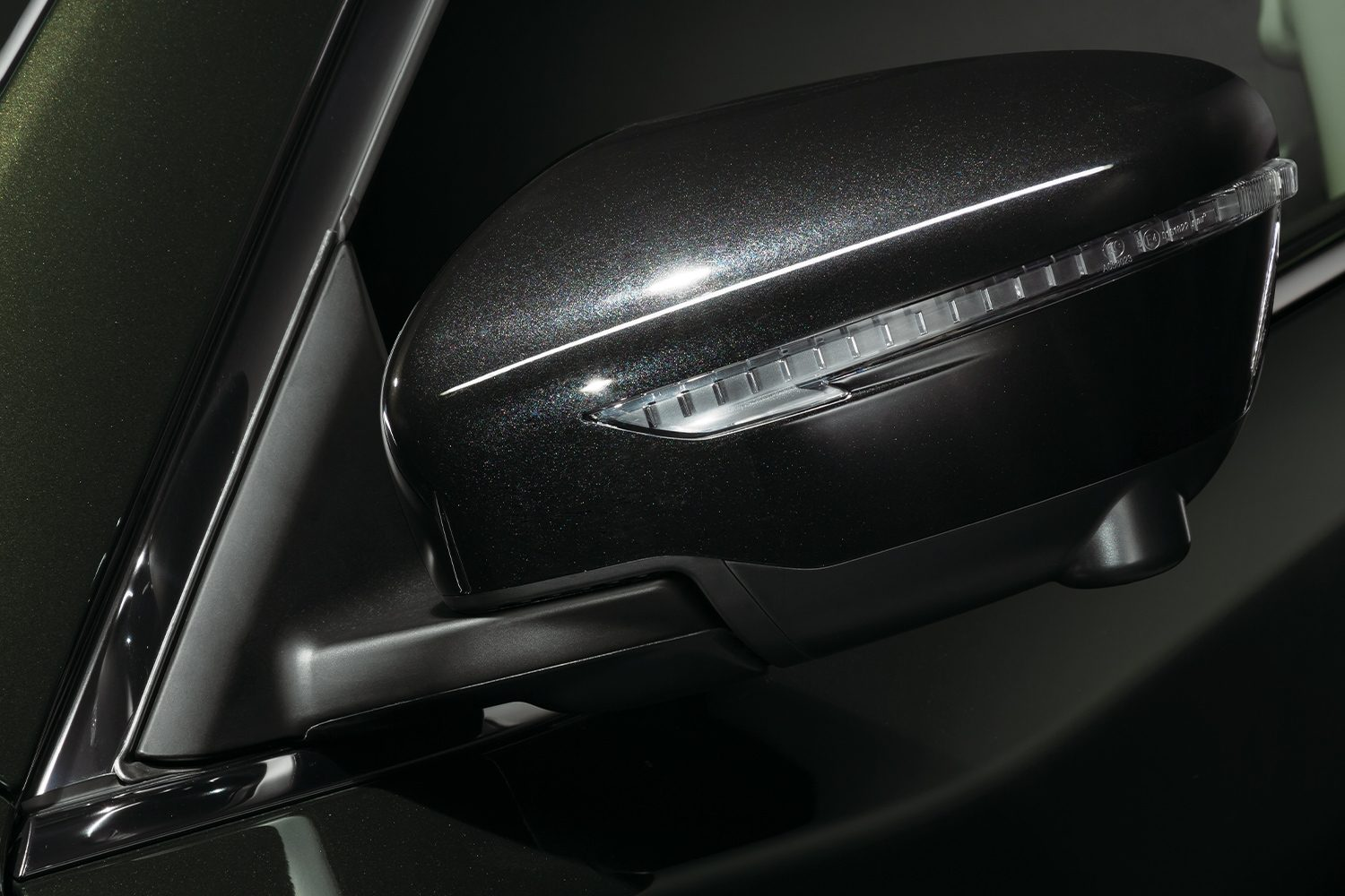 THE NEW 2020 NISSAN X-TREMER Black door mirror cover