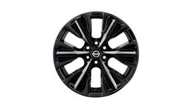 "18"" alufelg - diamantslipt (Black)"