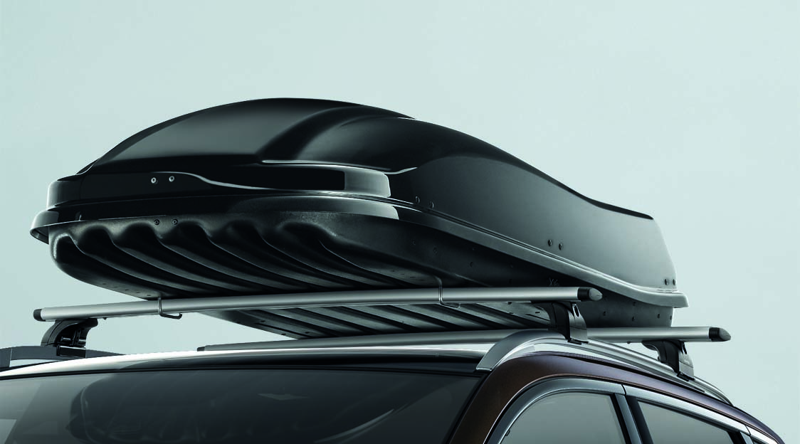 Roof box - Black - Quick fixing - Double opening