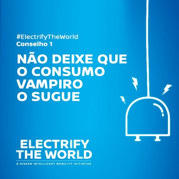 Electrify the World - Consumo vampiro