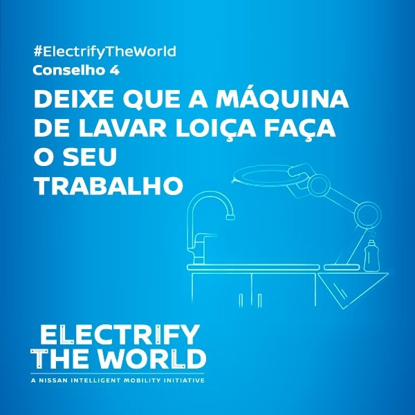 Electrify the World - Máquina lavar loiça