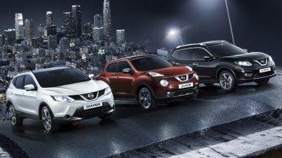 GAMME DES CROSSOVERS NISSAN