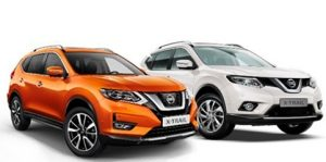 Nissan XT новый и старый