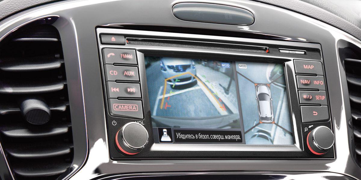 Nissan JUKE— Мультимедийная система NISSANCONNET