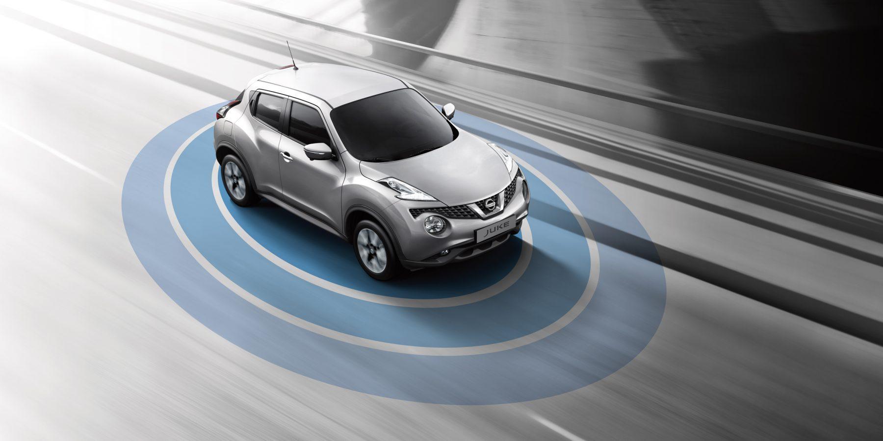 Nissan JUKE— комплекс систем активной безопасности Safety shield