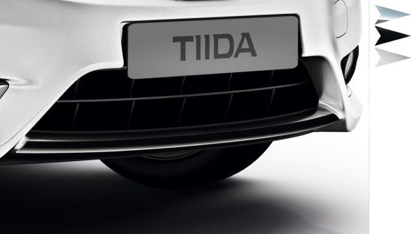 Nissan Tiida - Front lip finisher