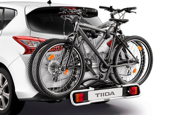 Nissan Almera - Transportation - Bike carrier Towbar mounted 13 pins, 2 bikes