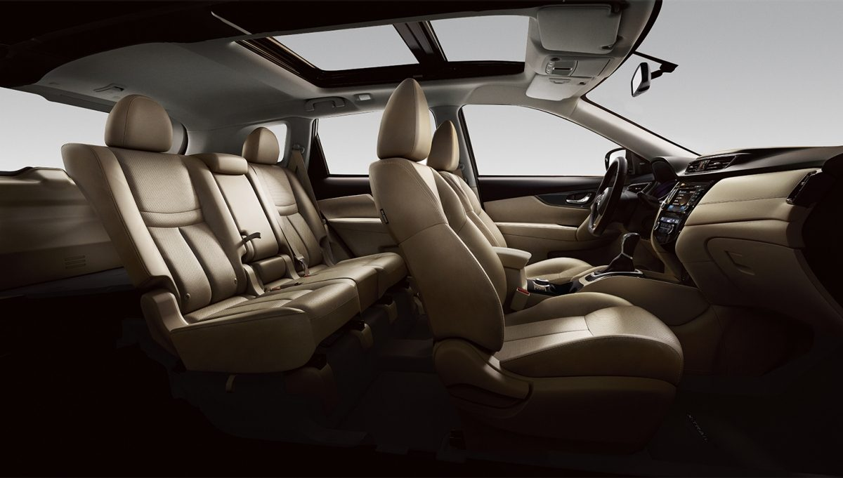X-Trail large interior profile - beige leather