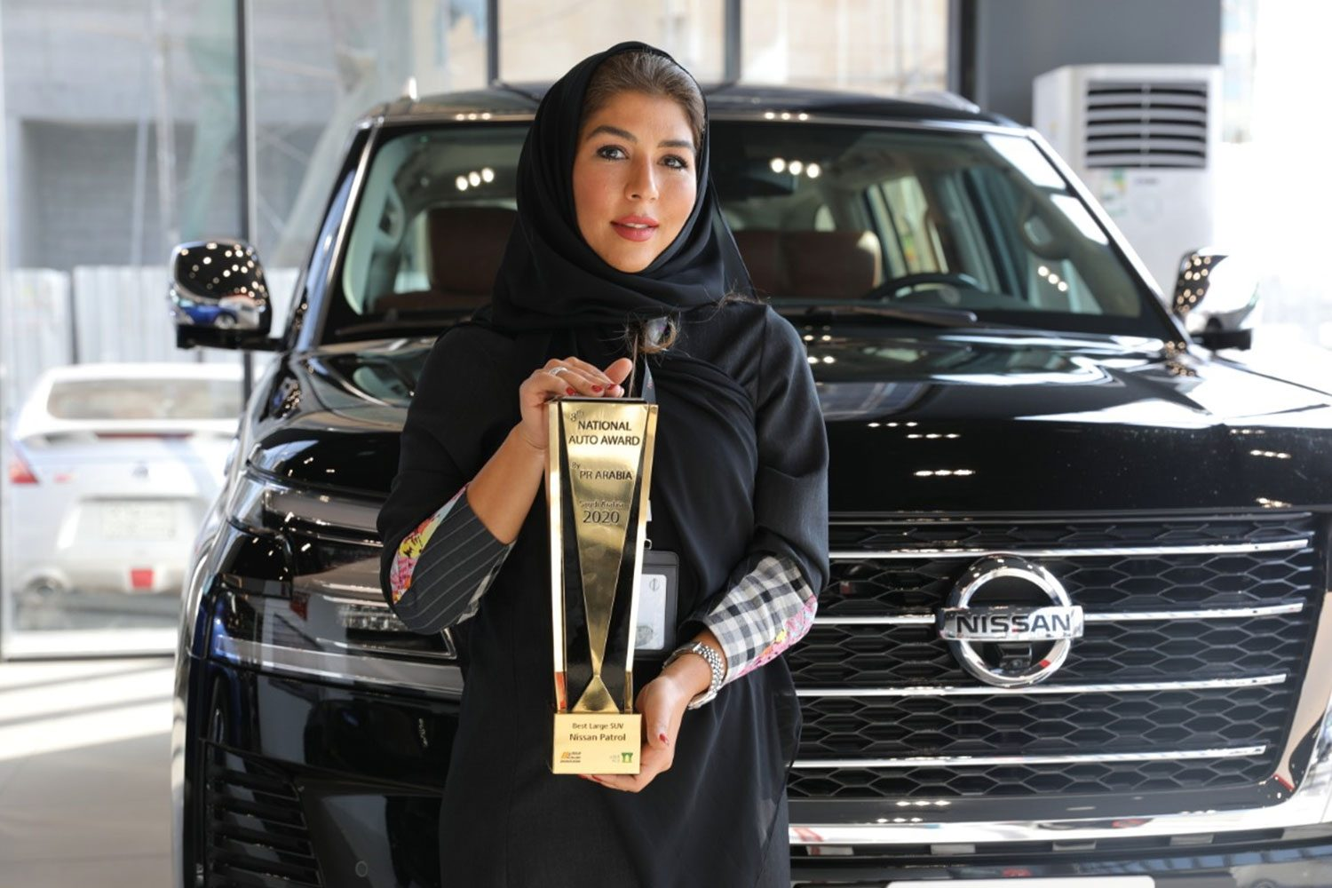 "Nissan Patrol 2020 wins ""Best Large SUV"" award at the 8th National Auto Awards 2020"