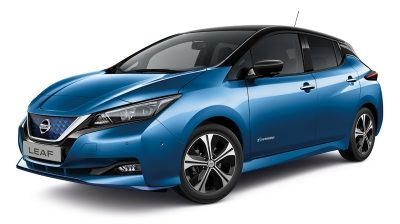 Nový Nissan LEAF E+ N-Connecta