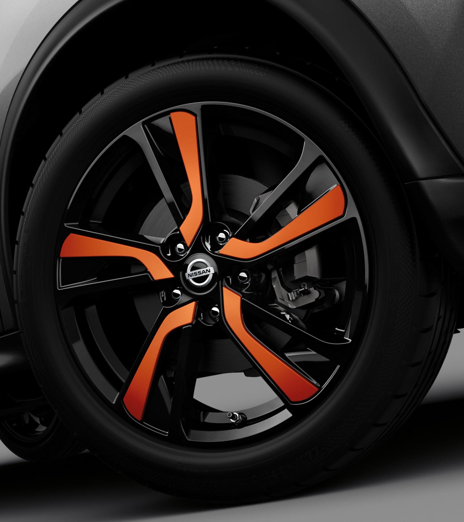 Nissan JUKE2018: колесо