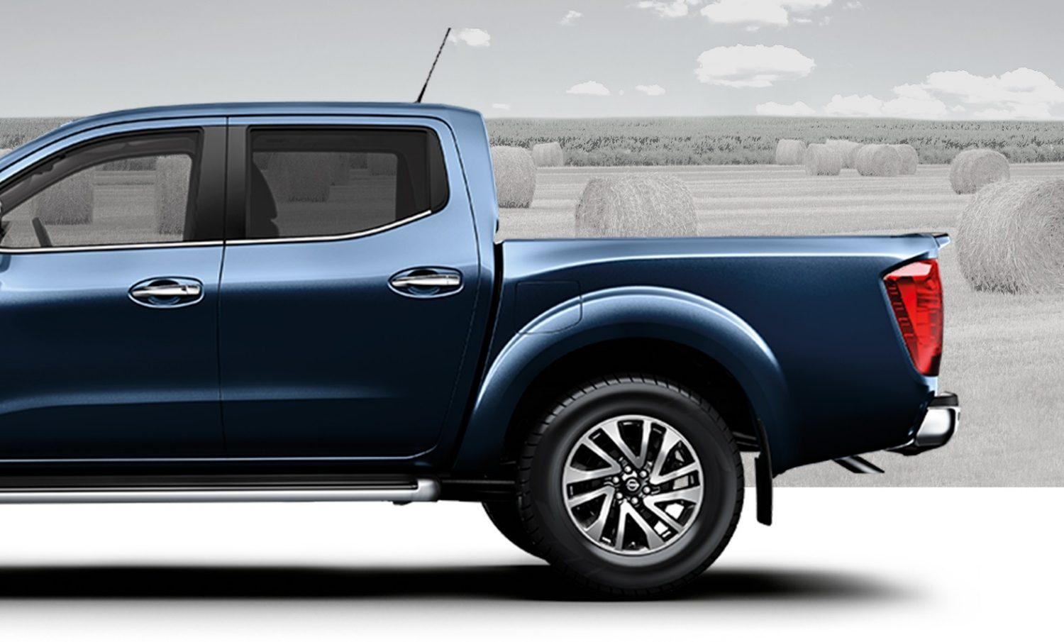 Nissan Navara King cab and double cab profiles