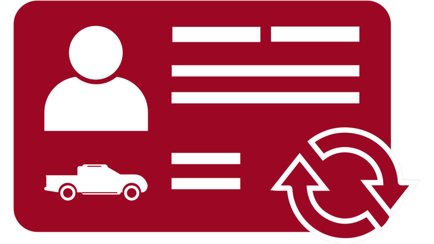 vehicle licence renewal
