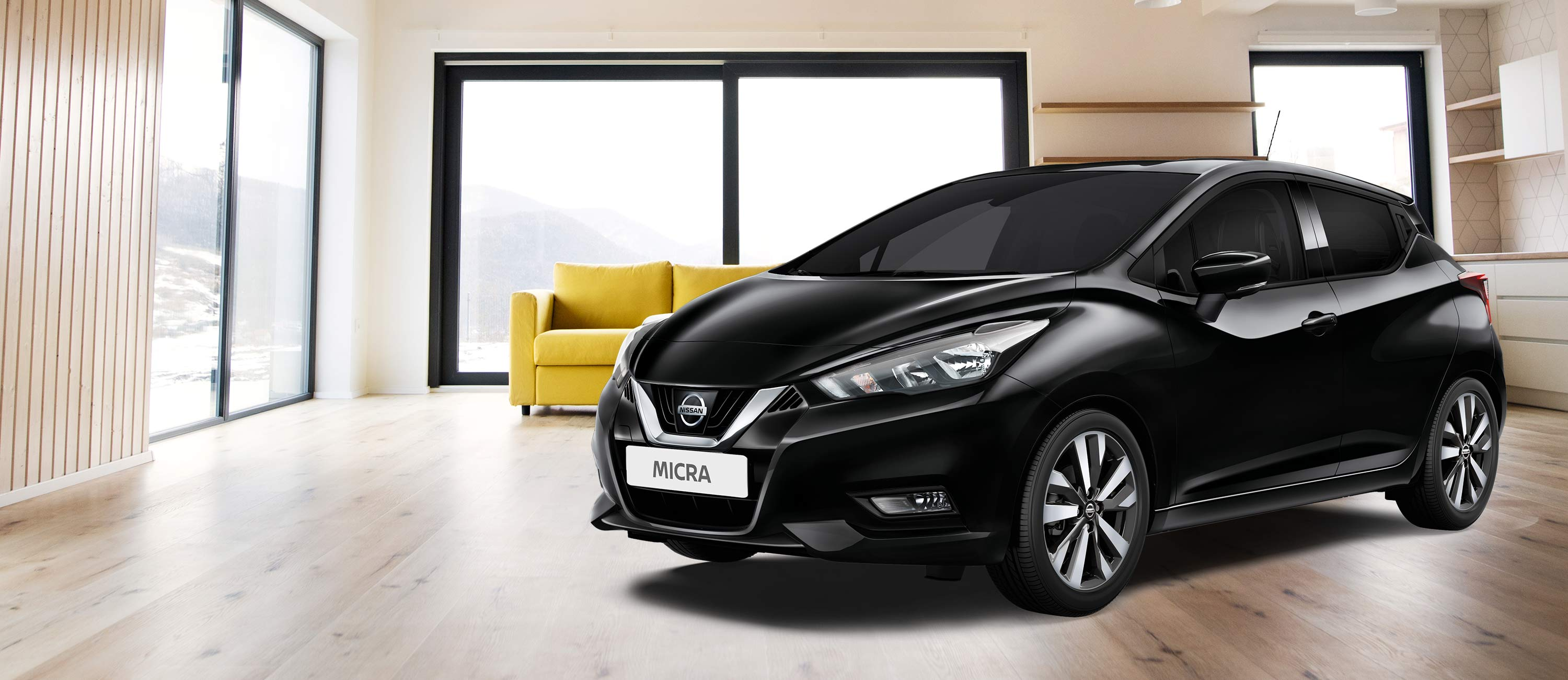Nissan home test drive