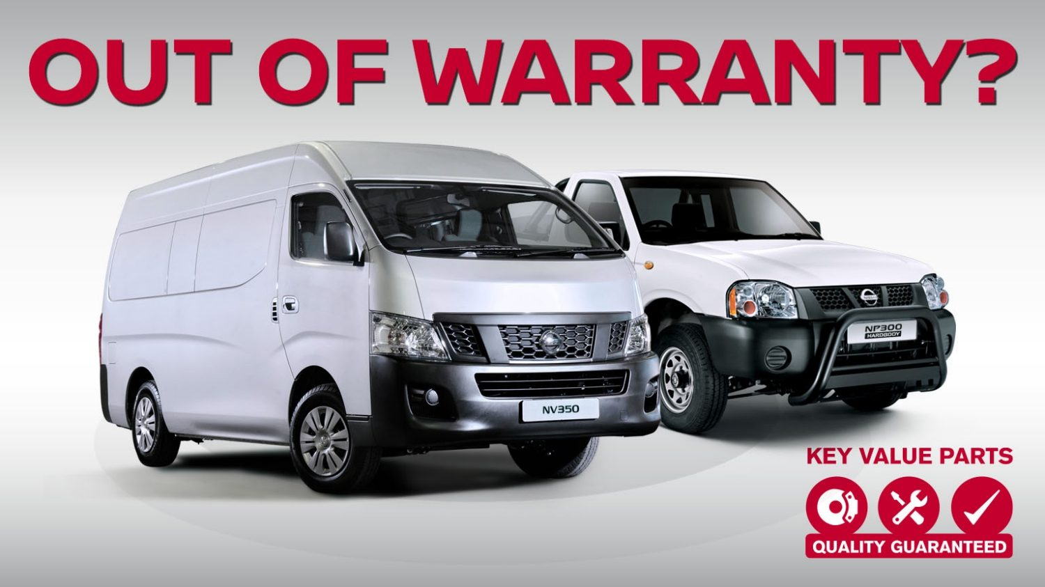 Is your vehicle out of warranty? Nissan Key Value parts offer the  affordable alternative to ensure your Nissan performs the way it should.