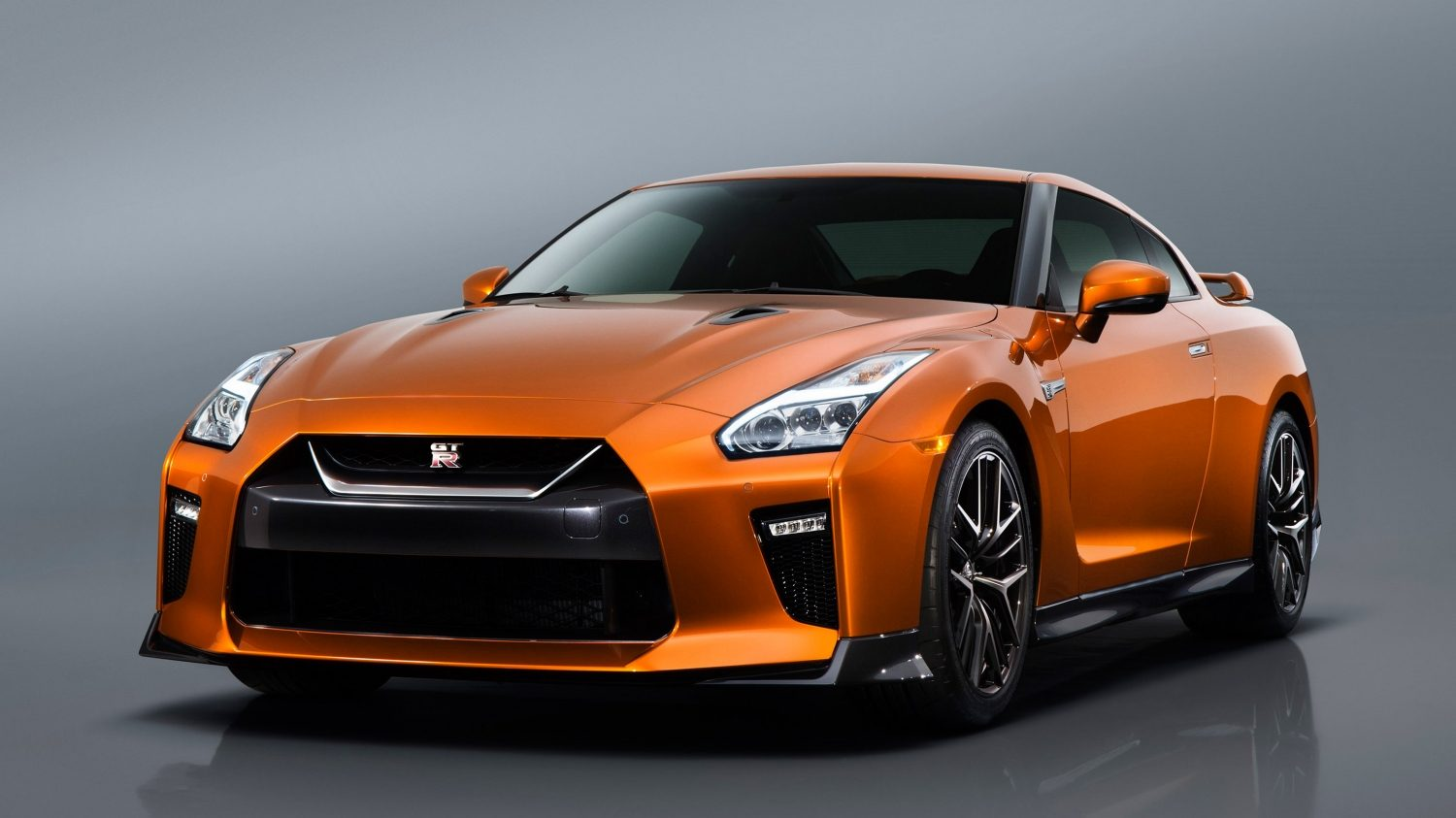 GTR in Orange front view