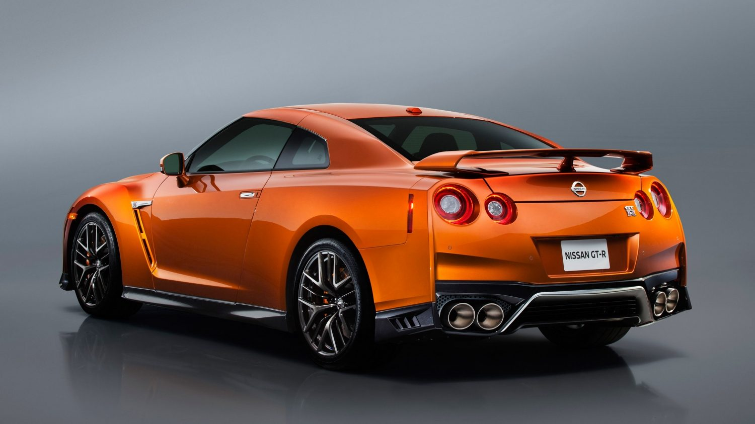 GTR in Orange Passenger Rear view