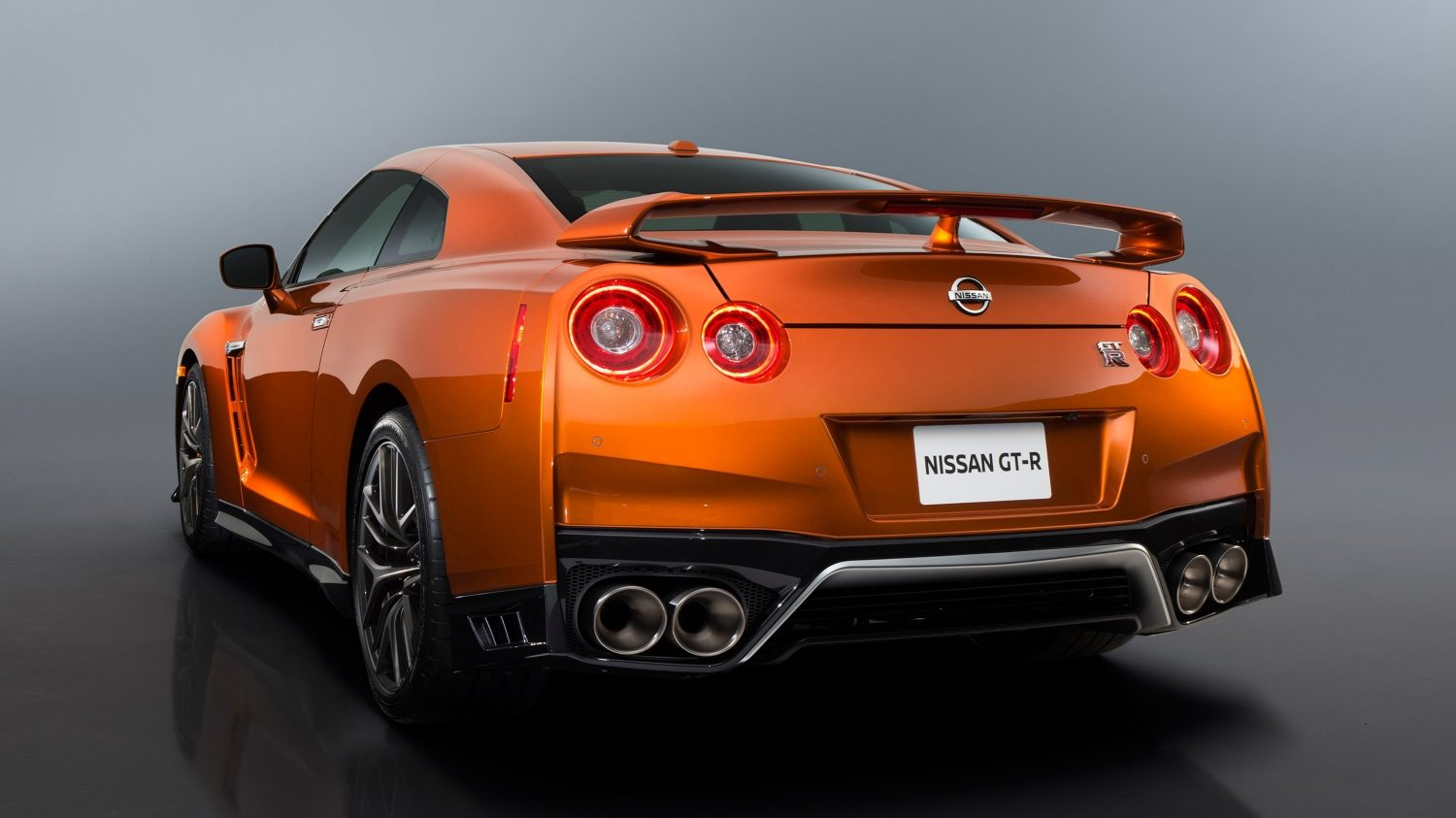 GTR in Orange rear view