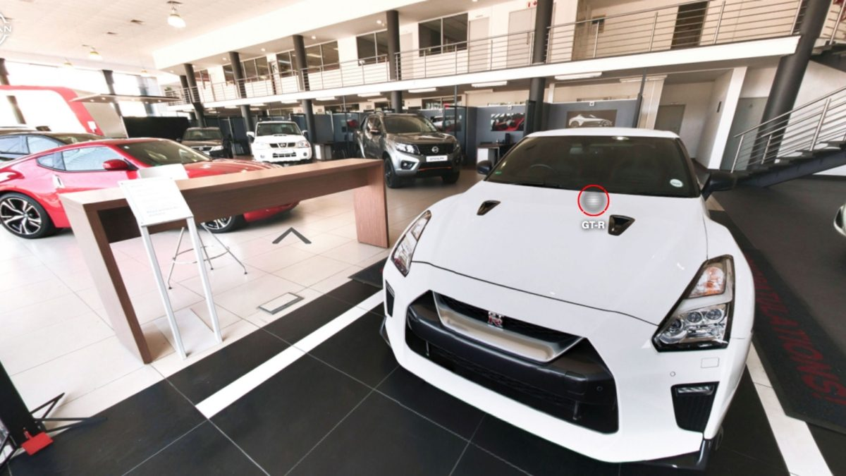 nissan virtual showroom