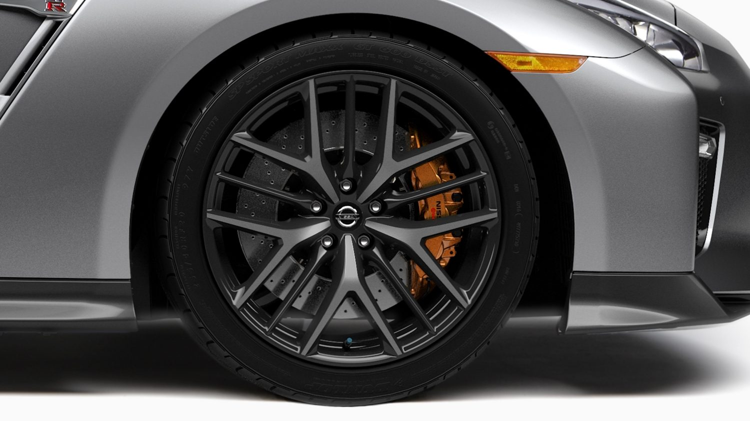 Nissan GT-R forged aluminium alloy wheels