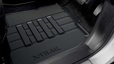 Rubber Floor Mats (Front & Rear)