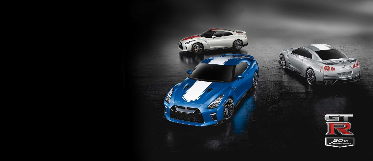 2020 Nissan GT-R 50th Anniversary Edition Line up