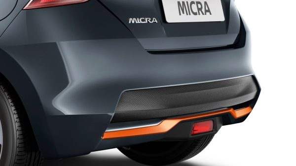 Energy Orange - Rear Styling Plate